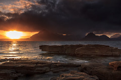 Elgol, Isle of Skye (KennethVerburg.nl) Tags: uk sunset sea mountains landscape bay scotland zonsondergang isleofskye unitedkingdom zee bergen landschap baai schotland elgol verenigdkoninkrijk