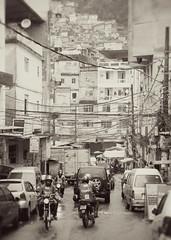 Favela (Nick Atkins Photography) Tags: brazil urban monochrome riodejaneiro slum nickatkinsphotography canoneos5dmkii faveladerocinhas