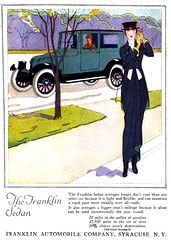 1920 The Franklin Sedan (carlylehold) Tags: art robert fashion illustration sedan franklin costume women ill 1920 keeper haefner carlylehold robertchaefner