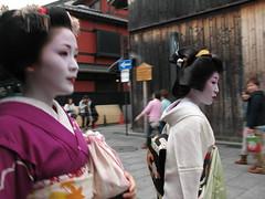 Geisha / Maiko spotting at Gion Kyoto Japan (VincenzoLuigi) Tags: japan kyoto maiko geisha gion