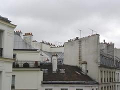 ber den dchern von paris (queencashmere) Tags: houses paris grey rooftops grau marais huser dcher ruecommines