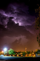 Electric Storm 3 (Pepe.Guzman) Tags: nightphotography storm night canon tormenta lightning rayo rayos lightstorm 550d t2i
