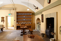 Ickworth House Servants Dining Room (FlyingV99) Tags: park trees music house lake clock church monument kitchen st garden vineyard library room workshop dining rotunda summerhouse ovens ickworth national trust quarters bury edmunds servants
