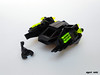 Scorpion Starfighter (Jannac Fenwal) Tags: black stars crystals space scorpions frogs starfighter frogspace