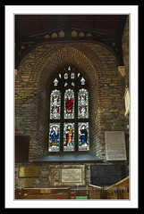 Saint Columbs stain glass window (donegalblaze) Tags: ireland irish church river catholic cathedral prayer chapel historic aisle holy londonderry service walls mass northern alter protestant derry siege ulster walled foyle cityside doire maidencity londonder