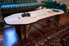 Laser Cut Coffee Table (scloopy) Tags: table cut livingroom rhino laser plywood otherlab