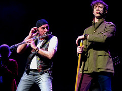 Ian Anderson & Ryan O'Donnell (mothclark62) Tags: music concert live gig tull jethrotull iananderson thickasabrick davidgoodier ryano'donnell stcleve