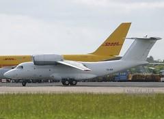 Enimex       Antonov AN72          ES-NOI (Flame1958) Tags: 2006 dub 0506 dublinairport antonov an72 airfreight aircargo 270506 eidw enimex esnoi antonov72