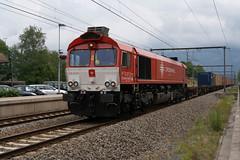 CrossRail DE6311+Neuss-shuttle (43551) (Durk Houtsma.) Tags: cr kalmthout class66 crossrail cl66 de6311