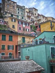 Colours of Manarola (jp3g) Tags: houses panasonic terre colourful g3 manarola hdr cinque corniglia volastra hdritaly