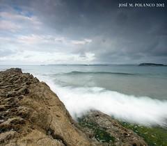 Sentido contrario (josemanuel_polanco) Tags: sea sky costa photography coast mar moving photos cantabria fotografias sentido contrario cantabrica elsardinero polancophotographyblogspotcom