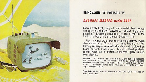 CHANNEL MASTER Radio, Television, Tape Recorder, Walkie Talkie and Interphone Brochure (USA 1961)_04