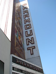 Paramount, downtown Oakland (Dan_DC) Tags: oakland california sanfranciscobayarea downtown oldneonsign paramount theater cinema marquee mosaic neon neonsign brand householdname brandequity