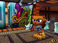 furballs_screen044 (furballs_dc) Tags: cat pc village screen beta prototype dreamcast alpha juliette furballs furfighters