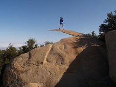 126 Vicki on Potato Chip Rock (_JFR_) Tags: hiking mount woodson woodsonmountain mountwoodson mtwoodson potatochiprock