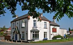 Moss Bank Hotel (The Railway Hotel) - Moss Bank, St. Helens. (garstonian) Tags: pubs sthelens merseyside mossbank greenalls