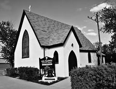 All Saints Anglican Church (Stella Blu) Tags: canada church rural blackwhite historic saskatchewan placeofworship waterous religiousbuilding stellablu allsaintsanglicanchurch pregamewinner