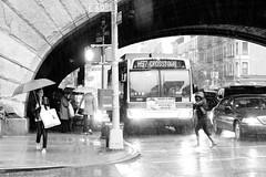 365 Project -- 146 - Todays Forecast Calls for Sun (Atomox) Tags: bridge newyork bus rain weather umbrella day manhattan streetphotography 365 raining eastside photoproject 59thstreet suttonplace 1stave 60thstreet