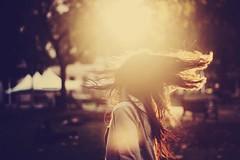 I Always Say that the Times in My Life when I've Been Happiest Are the Times When I've Seen, like, a Sunset (Amanda Mabel) Tags: autumn light sunset portrait sunlight motion girl dark hair bright bokeh head meadow violet lensflare faceless flick hairflip chrisevans amandamabel ialwayssaythatthetimesinmylifewhenivebeenhappiestarethetimeswheniveseenlikeasunset