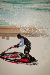 I am pushing the limit (Venerdi Pictures) Tags: color sports nature canon landscape top extreme l jeddah potrait jetski arus kawasaki 70300 durat