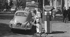 Fiat 500 (NG-68-85), Mercedes-Benz (AK-05-63), DKW Schnellaster (TS-60-06), Peugeot 203 (VK-81-63), VW T1, Plantagemiddenlaan Amstedam 1963 (Tuuur) Tags: vw fiat mercedesbenz 500 peugeot t1 203 dkw 1963 amstedam plantagemiddenlaan schnellaster ng6885 ak0563 ts6006 vk8163
