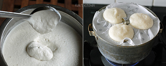 How to make idli step 6