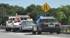 METRO FREEWAY SERVICE PATROL - DODGE TOW TRUCKS & CALIFORNIA HIGHWAY PATROL (CHP) (Navymailman) Tags: california ford highway victoria chp vic crown law enforcement patrol cvpi
