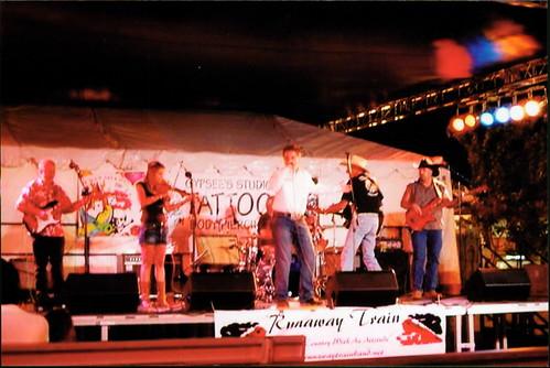AV Fair with Runaway Train Band