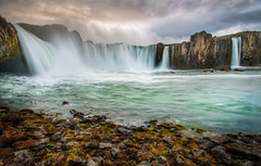Waterfall of Certain Doom (Stuck in Customs) Tags: world travel mist cold nature water weather june rock clouds digital port island photography waterfall iceland blog high bravo scenery europe dynamic stuck natural north scenic falls photoblog waterfalls software processing imaging range hdr tutorial trey sland travelblog customs akureyri norther geological northatlantic 2011 midatlanticridge ratcliff urbanarea hdrtutorial stuckincustoms treyratcliff photographyblog stuckincustomscom nikond3x capaital