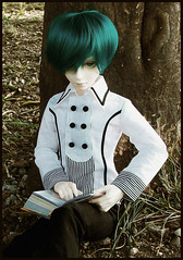 :: Edward :: (Bunraku Doll) Tags: boy cute outfit student doll head ns edward sd event junior bjd  dollfie superdollfie luts delf 13 limited sd10 abjd   2011  tealhair normalskin lightspear