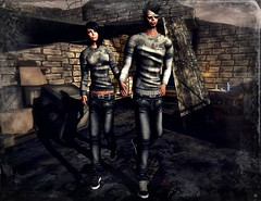 ..:: OUTFIT 11 ::.. (NyTrO StOrE) Tags: street urban woman man store mesh wear clothes hip hop styel nytro