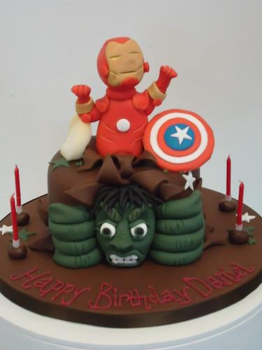 CAKE UK LTD - Avengers