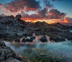 In a Lava World (mojo2u) Tags: sunset hawaii maui kapalua nikon2470mm nikond800 onelona