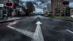 Staines Road West, towards Sunbury (Stefan the Cameraman) Tags: england unitedkingdom surrey middlesex hdr sunbury shepperton a308 sunburycross urbanex stainesroadwest