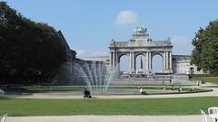 Parc du Cinquantenaire (lukasko) Tags: park city garden belgium belgique bruxelles brussel