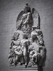 Sculpture on Arc de Triomphe (G.S. Easley Photography - 1.4 MILLION VIEWS! THANK) Tags: sculpture paris hotel arch lasvegas nevada arc casino resort arcdetriomphe