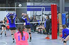 IMG_1540 (SJH Foto) Tags: school girls net club high team jump shot action teens battle teenager spike midair volleyball block tweens