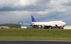 TF-AMS Boeing 747-481, Air Salvage International, Cotswold Airport, Kemble, Gloucestershire (Kev Slade Too) Tags: gloucestershire boeing747 asi kemble boeing737 boeing727 egbp cotswoldairport tfams airsalvageinternational vpcmn 5ykqf