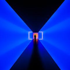 The Light Inside (Thomas Hawk) Tags: usa museum america neon texas unitedstates fav50 unitedstatesofamerica houston jamesturrell museumoffinearts mfah fav10 fav25 fav100 themuseumoffinearts thelightinside