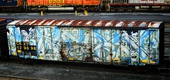 kwest (timetomakethepasta) Tags: train graffiti boxcar freight csx bsm wholecar csxt kwest