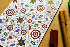 1 (enericollection) Tags: art nature illustration pen ink painting design sketch spring artist pattern graphic drawing doodle therapy healing markers coloringbook arttherapy coloringpage zentangle zendoodle