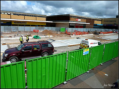 Kirkby scenes (exacta2a) Tags: buses construction knowsley kirkby liverpoolmerseyside
