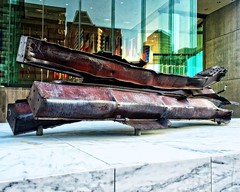 9/11 Memorial (DASEye) Tags: memorial steel worldtradecenter 911 maryland baltimore wtc memorials iphone steelgirders davidadamson daseye 9llmemorial
