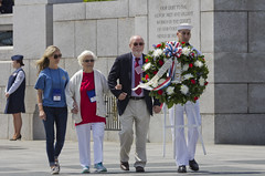 VE Day 2016 At The WWII Memorial  (370) (smata2) Tags: monument washingtondc dc memorial warmemorial veday nationscapital nationalworldwartwomemorial wwiiveteransremembrance
