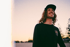 Lachy (Louis Dazy) Tags: summer film beach nature smile youth analog 35mm photography funny grain australian