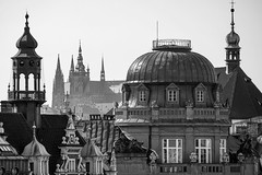 Prague Rooftops (alancookson) Tags: skyline architecture rooftops prague fujixt1220416prague