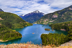 Diablo Lake Viewpoint (trail66td) Tags: landscape washingtonstate northcascadeshighway