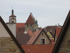 Triangular gables of Rothenburg ob der Tauber, Germany (Paul McClure DC) Tags: architecture germany bayern deutschland bavaria franconia historic franken rothenburgobdertauber may2015