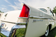 300B Chrysler (GmanViz) Tags: color detail car automobile bumper fender chrome 1956 hemi chrysler taillight tailfin flank 300b gmanviz