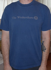 #1794A the Weakerthans - Fallow (Minor Thread) Tags: weakerthans propagandhi canada canadian fallow subcity records hopeless punk rock emo concert tour merch vintage alternative shirt tshirt tshirtwars minorthread blue
